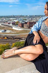 Stunning Megan Snow amazing body, big tits